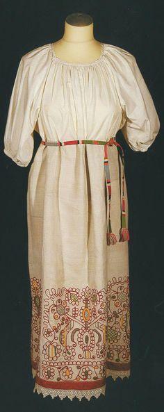 Russian peasant women's national costume