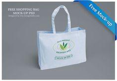 Free Eco-Friendly Shopping Bag Mock-up PSD Files