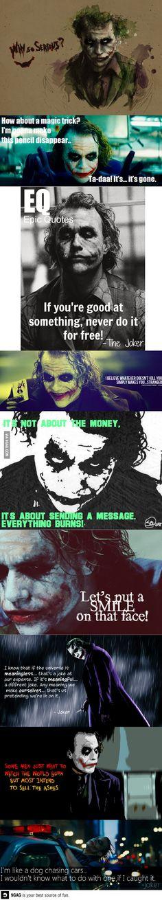 The Joker's best quotes