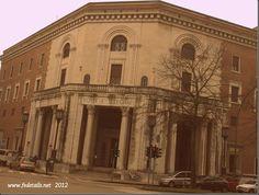 Palazzo delle Poste ( panoramica ), Ferrara, Emilia Romagna, Italia - Post Office building ( Overview ), Ferrara, Emilia Romagna, Italy - Property and Copyrights of www.fedetails.net