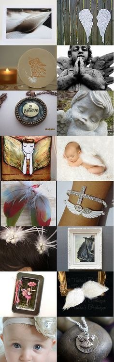 Angels by Tara Sparks on Etsy--Pinned with TreasuryPin.com