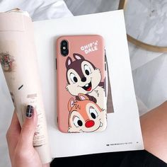 Chip n Dale Mobile Phone Cover Cute Cartoon iPhone Cases