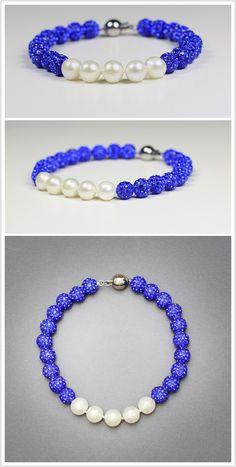 Zeta Phi Beta 5 Pearls $42 http://gratiapearl.com/zeta-phi-beta-5-pearl-bracelet/