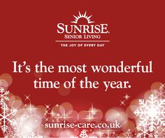 It's the most wonderful time of the year. Best Inspirational Quotes, New Quotes, Sunrise Quotes, Senior Living, Time Of The Year, Wonderful Time, Knowing You, Joy, Christmas