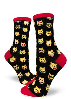 Rigg-socks Cute /& Kawaii Ice Cream Cat Mens Comfortable Sport Socks White