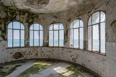 During a recent trip to Romania, I had the chance to shoot the abandoned casino in Constanta. As a pearl watching over the Black Sea where wealthy travelers and the elite flocked from all over Europe to play and dance all night in what used to be the most magnificent building of the country.   I hope my photographs will give you a glimpse of what was the atmosphere back in time!