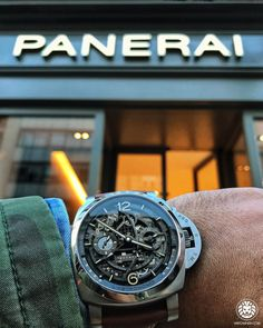 """22.7k Likes, 75 Comments - Watch Anish (@watchanish) on Instagram: """"Tonight I have the honour of joining Mr Bonati and Nick Foulkes to officially open the new @panerai…"""""""