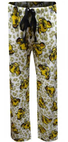 ae863144ff1e7 WebUndies.com Disney's Lion King Simba Soft Plush Loungepant Lion King  Simba, Disney Lion