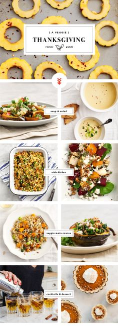 A Veggie Thanksgiving / Love and Lemons