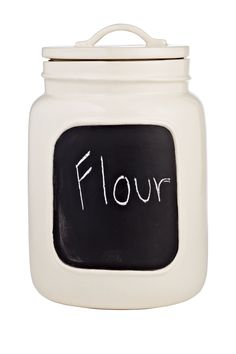 Large Chalkboard Jars - Cream on HauteLook