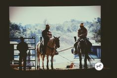 Two cowboys resting on their horses!  Lifeofhorses.com