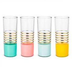 Oh Joy!® Glass Tumblers- 4ct : Target