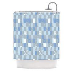 Allison Beilke Nature Check Winter Shower Curtain