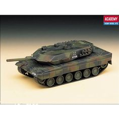 Model Artillery Kits - Academy German Army MBT Leopard 2 A5 Military Land Vehicle Model Building Kit *** Check out the image by visiting the link.