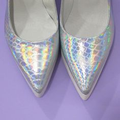 Take holograms to the next level. high heels