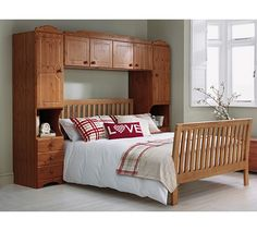 Buy HOME Nordic Overbed Fitment - Pine at Argos.co.uk, visit Argos.co.uk to shop online for Fitted bedroom furniture, Bedroom furniture, Home and garden