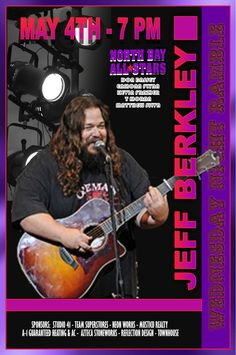 Jeff Berkley created a bare-handed style of percussion that has become uniquely his own and highly regarded. He helped define the sound of the Joel Rafael Band, of which he's a founding member, and has played with Jackson Browne, Ben Harper, and David Crosby among others. His skills on the guitar developed as well and he is well-known for his stylish riffs. Playing with some of the best singer-songwriters has not been lost on Berkley...