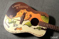 Custom Guitar by Grapheart Studio , via Behance