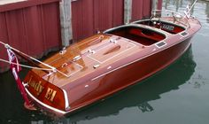 Wood Wooden Boat Restoration Antique Vintage boats for sale and restored Macatawa Bay Boat Works Saugatuck Michigan Wooden Speed Boats, Classic Wooden Boats, Classic Boat, Classic Italian, Chris Craft Boats, Boat Restoration, Bay Boats, Runabout Boat, Wood Boat Plans