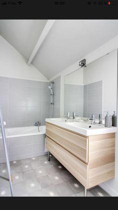Carrelage de salle de bain étoilé