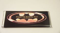 10 Batman Candy Wrappers and Foils by Uniquewrapsbybj on Etsy, $8.00