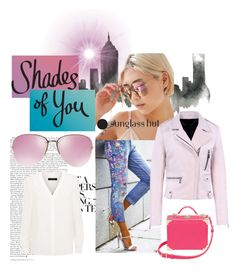 """""""Shades of You: Sunglass Hut Contest Entry"""" by lorafdz ❤ liked on Polyvore featuring WALL, Urban Outfitters, Jaeger, Miu Miu, Aspinal of London, Barbara Bui and shadesofyou"""