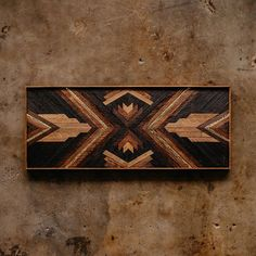 A commission going to Oregon for Torey. Made from wood rescued from a home built in 1925 in the Sevier Park neighborhood of Nashville, TN. Scrap Wood Art, Reclaimed Wood Wall Art, Wooden Wall Art, Diy Wall Art, Diy Tableau, Southwestern Quilts, Wood Mosaic, Wood Carving Patterns, Wood Joinery