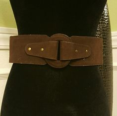 ❗1 DAY SALE❗NWOT Suede Brown Belt - M/L Cute Brown Belt that has never been worn. Forever 21 Accessories Belts