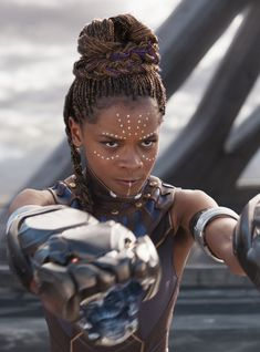 Letitia Wright is the breakout star of 'Black Panther.' Here's your guide to Wright's past roles, favorite movies, and fun skills. Films Marvel, Marvel Characters, Marvel Heroes, Marvel Dc, Black Panther Marvel, Shuri Black Panther, Black Panther Character, Black Panthers, Infinity War