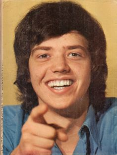 Jay Osmond --Back cover of Tiger Beat Spectacular. August 1972.