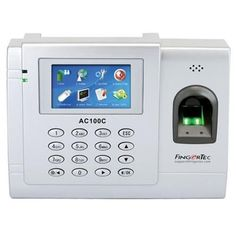 Fingertec Full Color Biometric Time Attendance System for 3000 Fingerprints - Fingertec AC-100C - http://www.discountbazaaronline.com/fingertec-full-color-biometric-time-attendance-system-for-3000-fingerprints-fingertec-ac-100c/