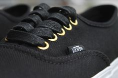 Feature Friday Langley, January Featuring new arrivals for men, women & kids from Vans, Quiksilver, Obey & more! Check out the new stuff in Langley! Vans Authentic Black, Sneakers, Gold, Shoes, Women, Fashion, Trainers, Moda, Zapatos
