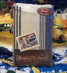 1 Tommy Bahama Blue Batik Damask European Sham NIP 10% off sale!! $32.39