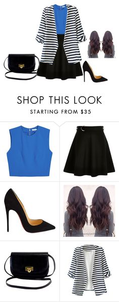 """""""Arms"""" by katherine-molinabts on Polyvore featuring moda, Alice + Olivia, Christian Louboutin y WithChic"""