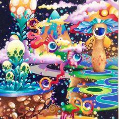 """Hasta el jueves 14 de abril ven y descubre """"Una Historia Sin Fin"""" la increible exposición de Maria del Pilar Rodriguez! En A Seis Manos calle 22#8-60  #expo #art #imagination #magia #inspiration #nature #color #bogota #aseismanos by aseismanos"""