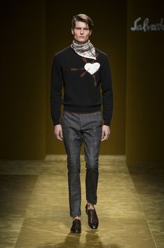 ‪#‎FERRAGAMOFW16‬ Men's Collection Runway Show.