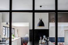 Résidence, Corsier – Valentine Bärg Architectures Decor, Kitchen Design, Light, Family House, Kitchen, Home Decor, Ceiling Lights