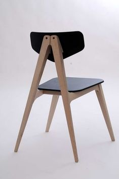 Kursi Makan - Molletta Chair: A Chair Inspired by Wooden Clothespins by Hagar Bar-Gil - Design Milk