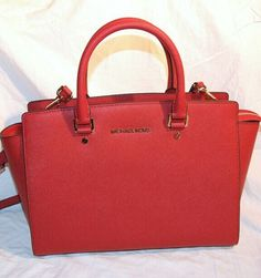 #Michael #Kors #Handbags Red