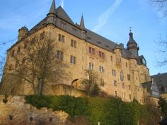 Marburger Schloss, a photo from Hessen, West   TrekEarth