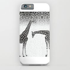 Giraffe patterns for wallpaper iPhone & iPod Case