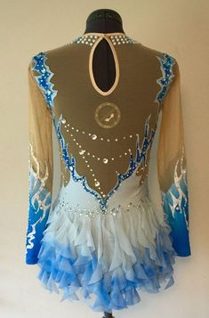 Rhythmic Gymnastics Competition Costume SOLD by Savalia on Etsy