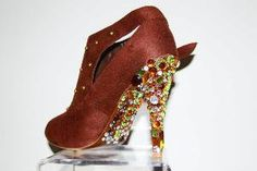 """Las Vegas Sunset"" Heels-by Shoes of Imagination"