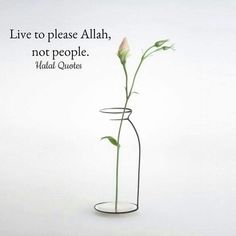 Pleasing people is so hard.  Pleasing Allah is so easy and feels right.
