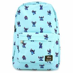 Disney Rucksack - Loungefly x Stitch Poses Print - Disney Ideen Disney Stitch, Lilo Ve Stitch, Lilo And Stitch Quotes, Cute Disney, Disney Style, Hot Topic Disney, Disfraz Lilo Y Stitch, Lelo And Stich, Stitch Backpack