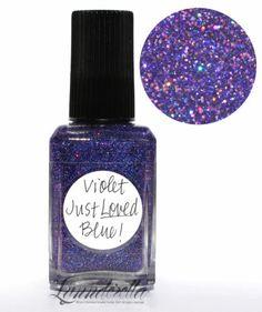 Lynnderella Limited Edition Nail Polish—Violet Just Loved Blue