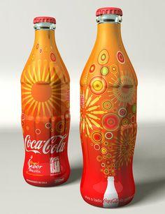 Shrink sleeve packaging design #etiquette #bouteille #shrink #sleeves #bottle #labels #en #verre #plastique