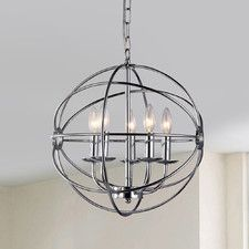 Aidee 5 Light Candle-Style Chandelier