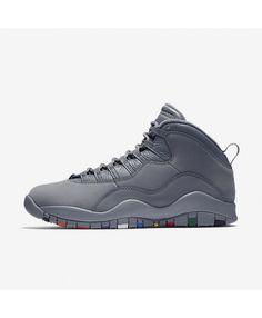077baec76b03e Air Jordan 10 Retro Cool Grey Trainers Cheap Nike Trainers