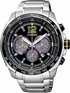 dade2ddef1 Men s Citizen Eco-drive Chronograph Sports Watch Ca4234-51e for sale online